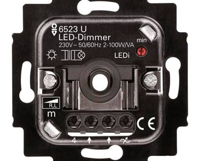 Regulador electrónico giratorio led Niessen Tacto
