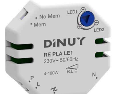 Regulador intensidad para lámparas led regulables Dinuy RE PLA LE1