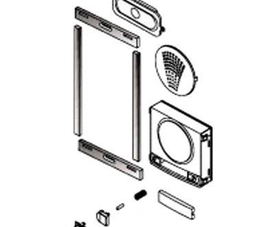 Set reparación mecánica placas Fermax