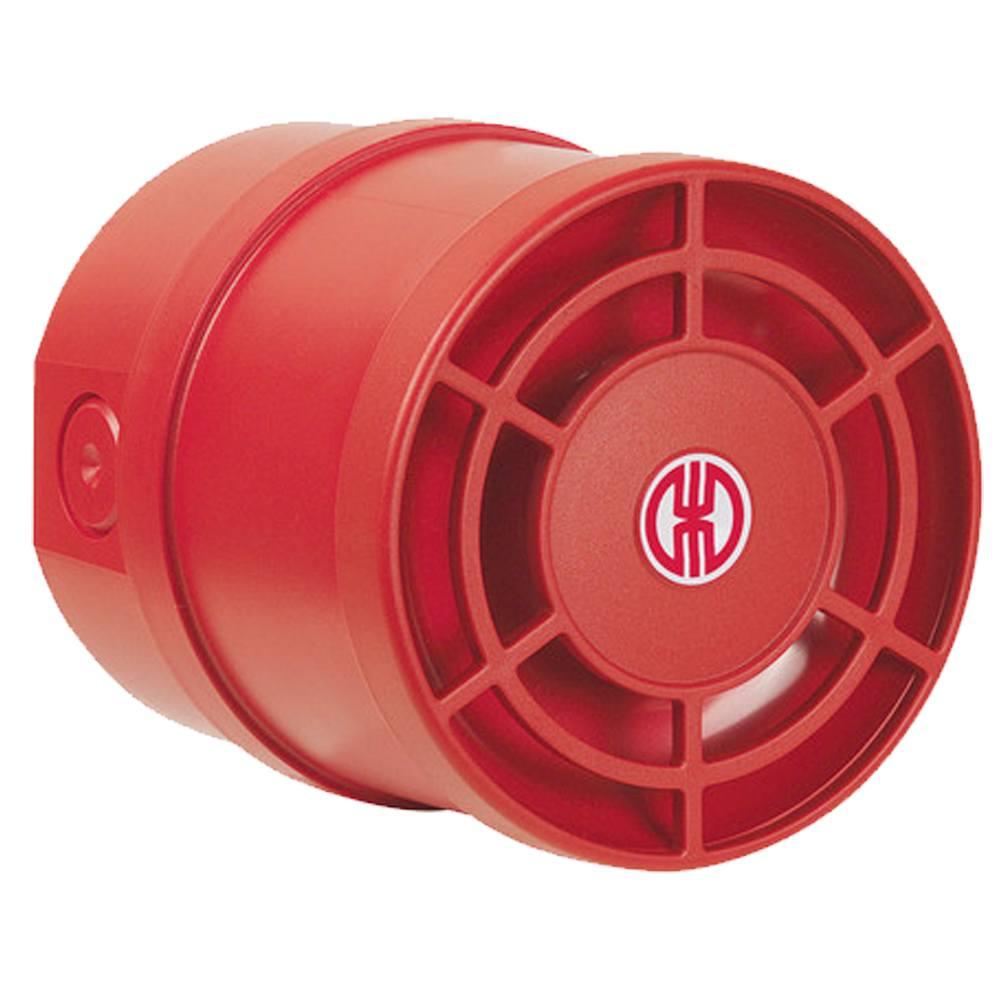 Sirena industrial 32 sonidos 115 dB interior exterior