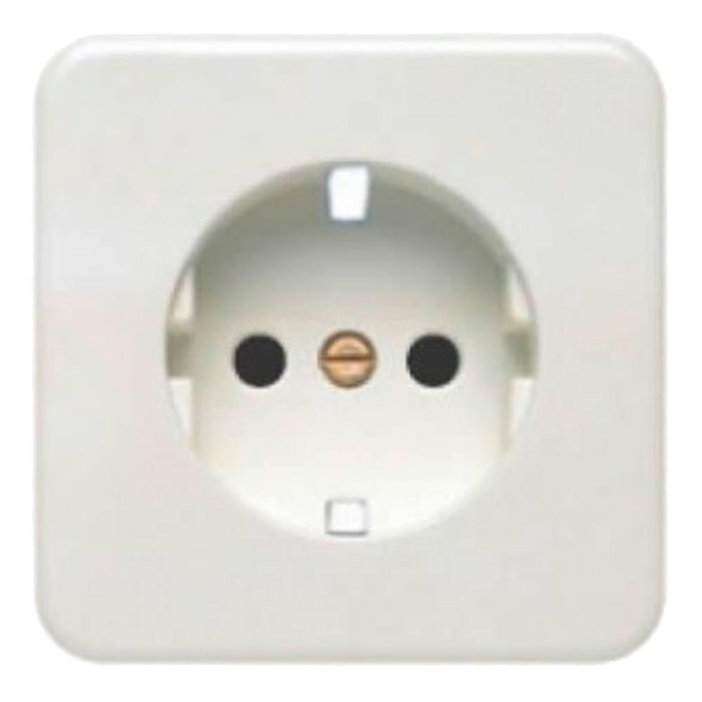 Tecla enchufe schuko BJC Ibiza blanco 10773-B
