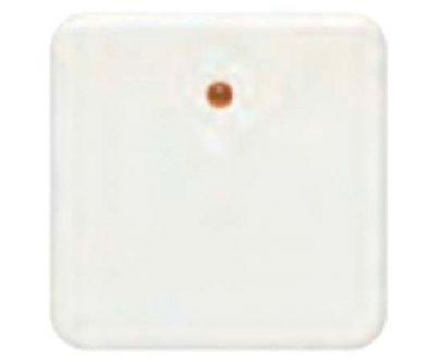 Tecla interruptor con visor BJC Ibiza blanco