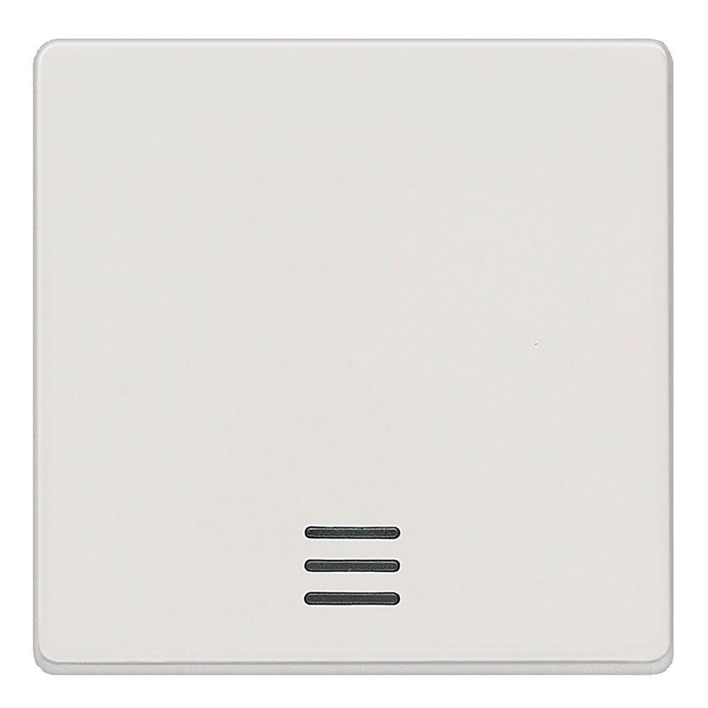 Tecla interruptor con visor Siemens Delta blanco titán