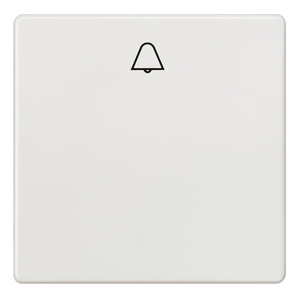 Tecla pulsador campana Siemens Delta blanco titán