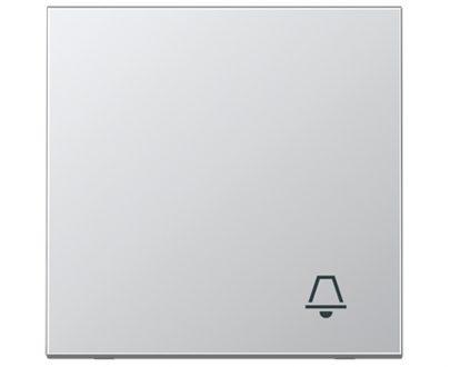 Tecla pulsador timbre Jung LS 990 blanco alpino