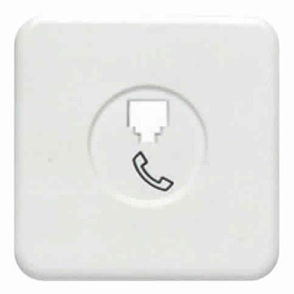 Tecla toma teléfono BJC Ibiza blanco 10781-B